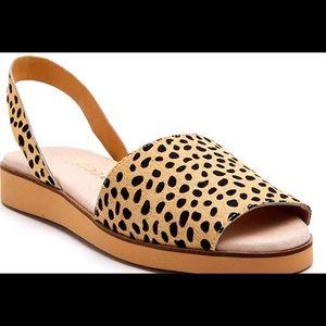 Matisse Cheetah print sandal